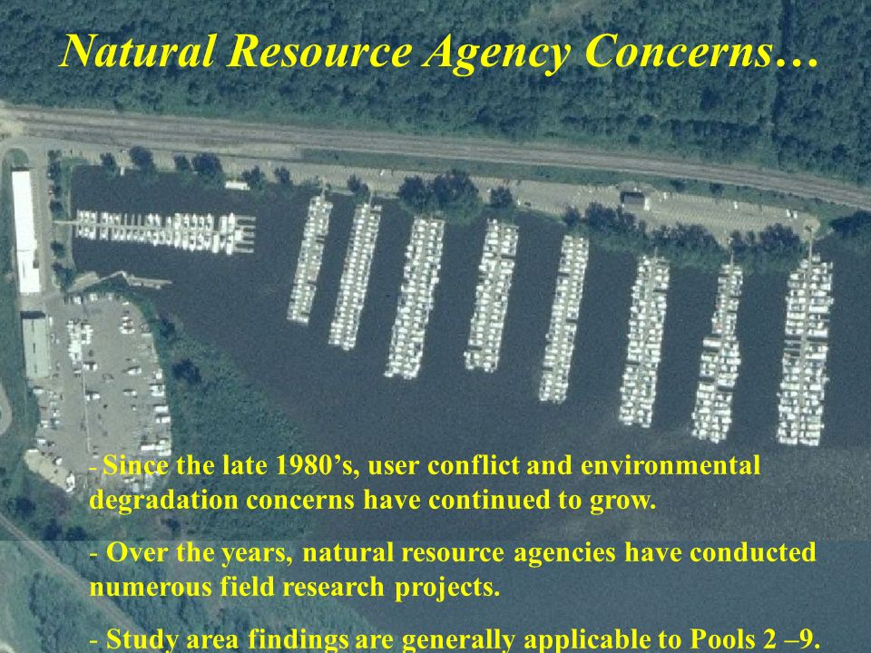 - Since the late 1980s, user conflict and environmental degradation concerns have continued to grow. - Over the years, natural resource agencies have