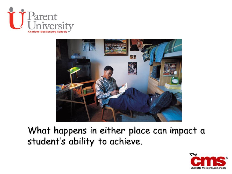 What happens in either place can impact a students ability to achieve. Can We Talk?