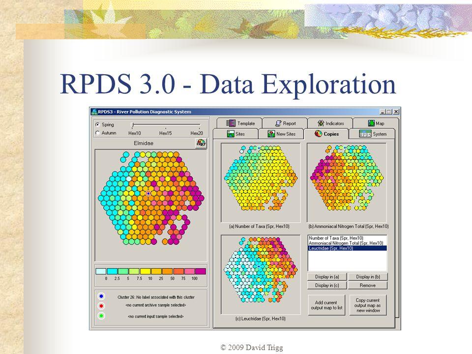 © 2009 David Trigg RPDS 3.0 - Data Exploration
