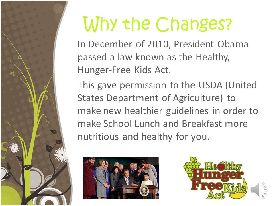 What You Need to Know About School Meals 2012-2013 By: Alyssa Owen Dietetic Intern at Davis Nutrition Services