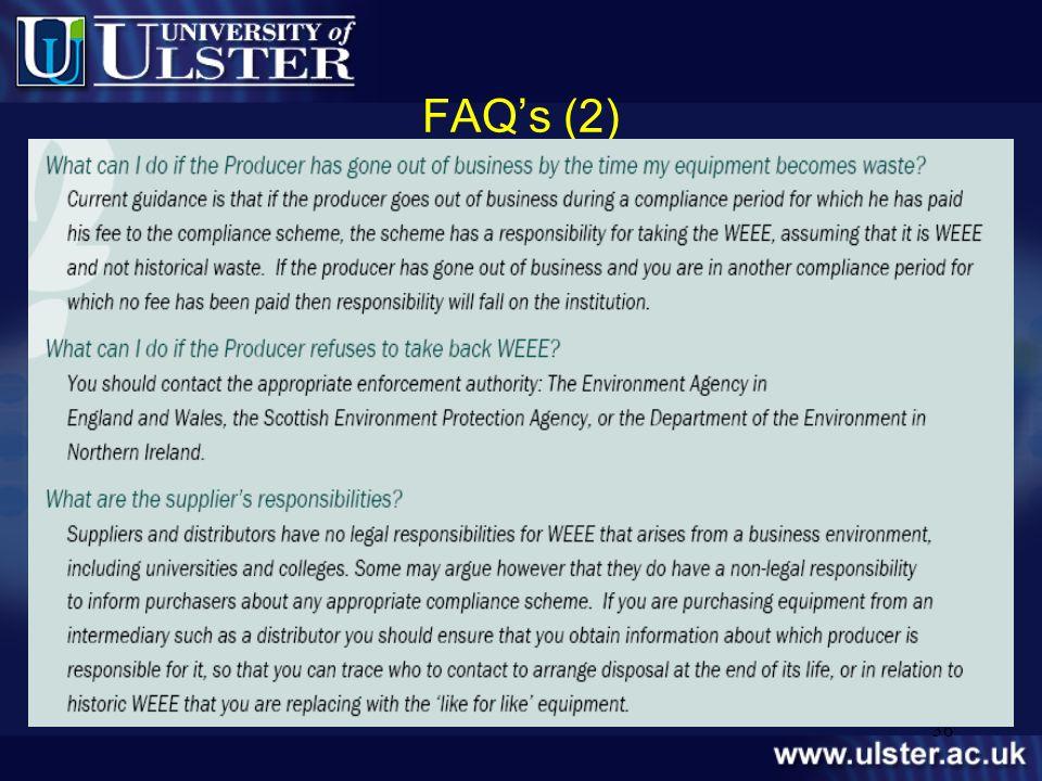 36 FAQs (2) level.