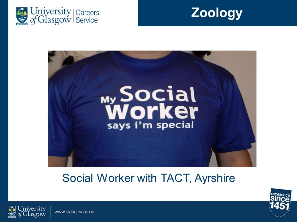 Social Worker with TACT, Ayrshire Zoology