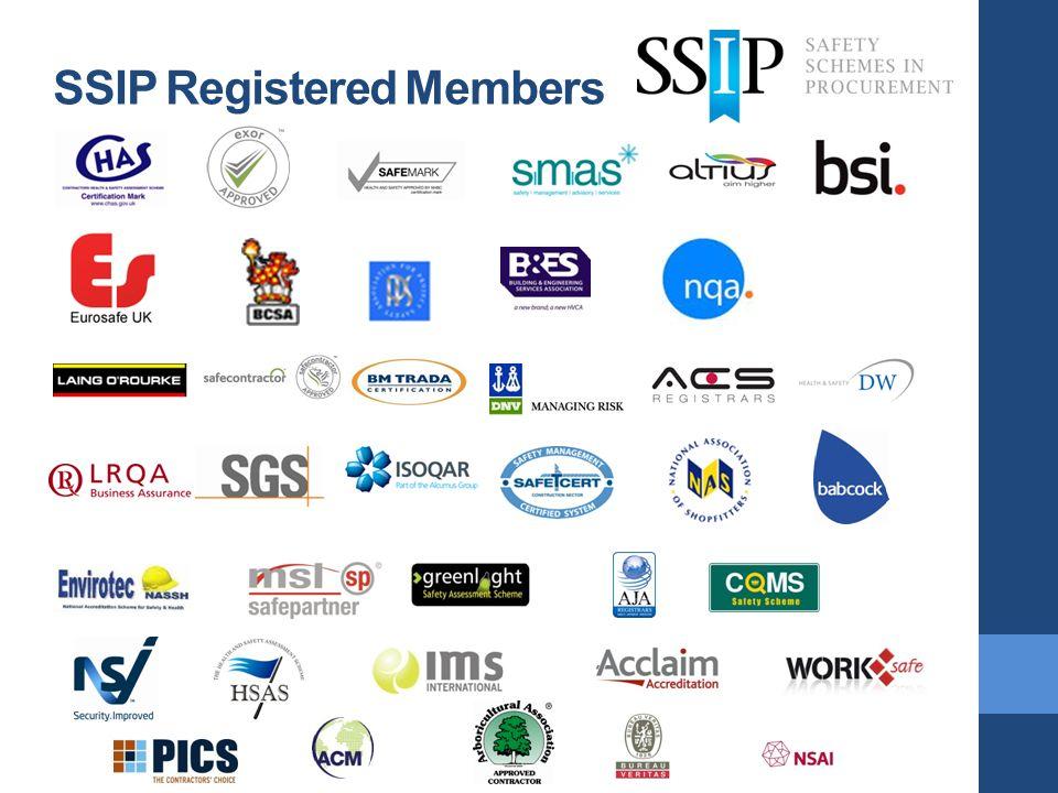 SSIP Registered Members