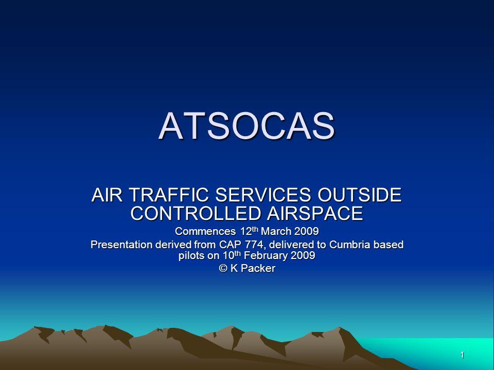 32 Procedural Summary Procedural Summary Rules/ WeatherIFR or VFR, VMC or IMC Identification - No Traffic InformationOn a Basic Service aircraft.