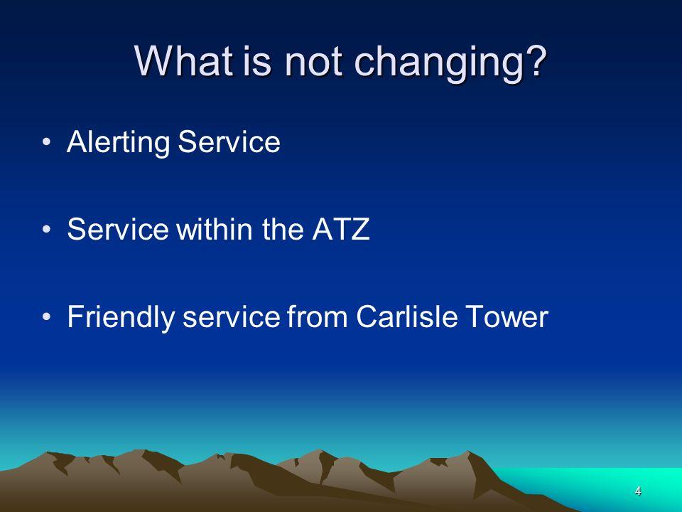 15 Procedural Service Procedural Service Terrain Terrain clearance would be achieved: when following notified instrument approach procedures.