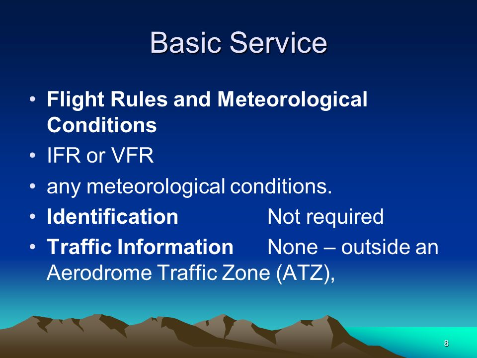 29 DECONFLICTION Terrain A Deconfliction Service shall only be provided to aircraft operating at or above the ATC units terrain safe level, Unless when climbing to the ATC units terrain safe level, or when following notified instrument approach procedures.