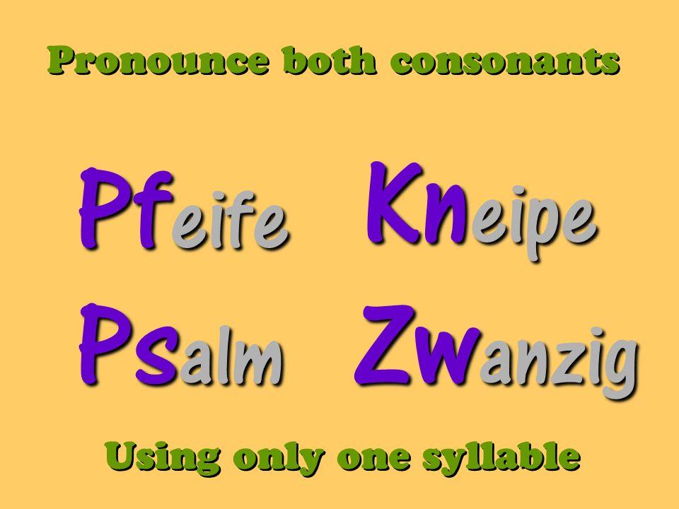 Die Zeit Z Z sounds like /ts/ As in Tse tse fly As in Tse tse fly Time Der Reiz sounds like dare rites charm, stimulous