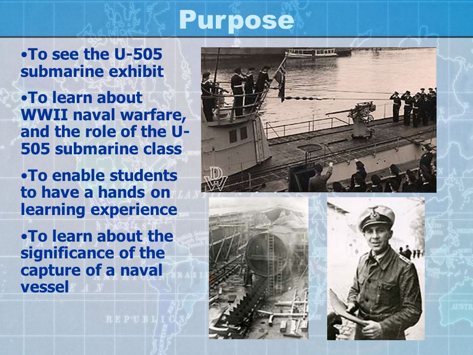 U-505 Submarine Visit
