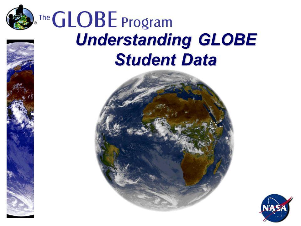 Understanding GLOBE Student Data