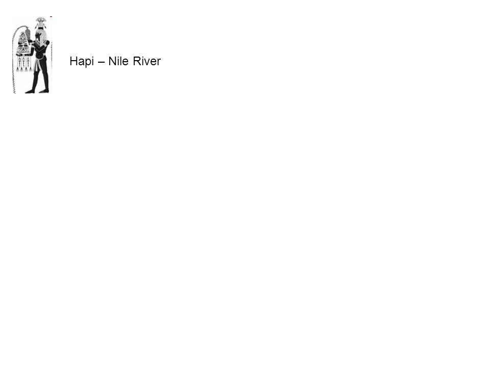 Hapi – Nile River
