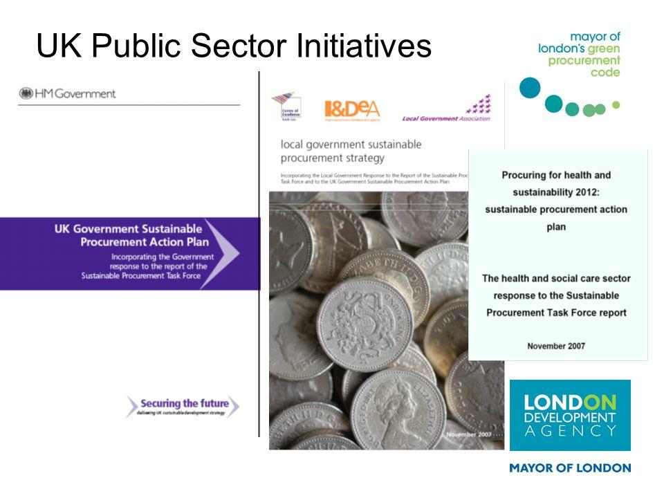 UK Public Sector Initiatives