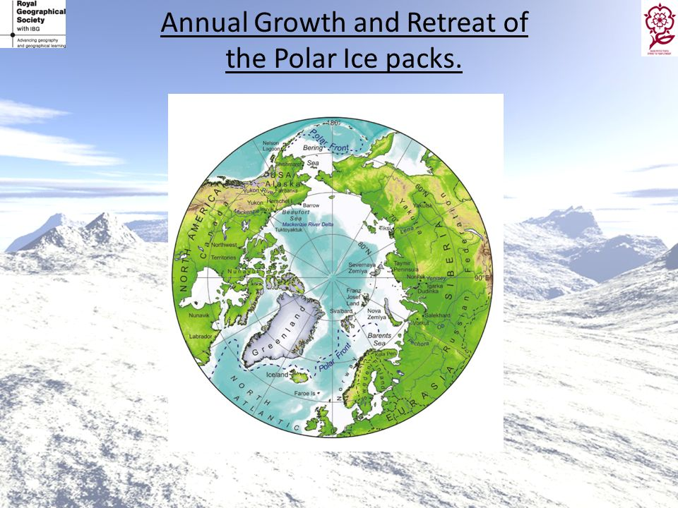 Annual Growth and Retreat of the Polar Ice packs.