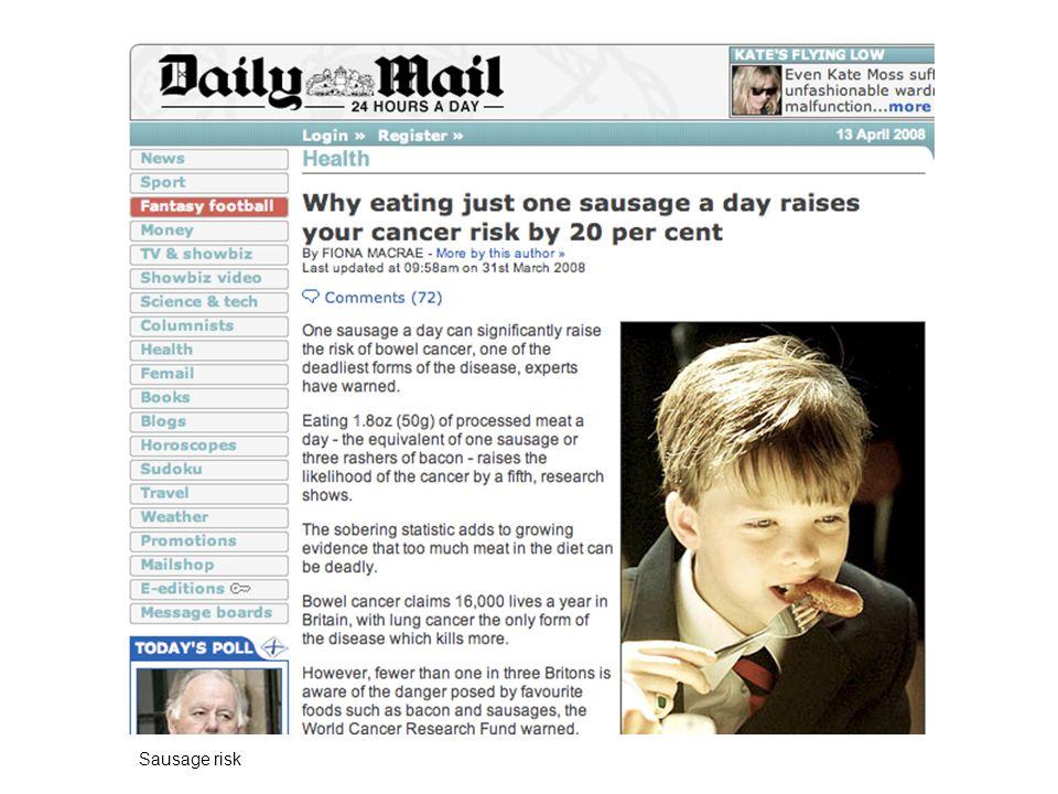 Sausage risk