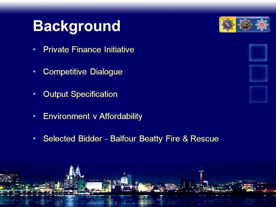 """Presentation """"North West Fire & Rescue Services PFI Project Colin ..."""