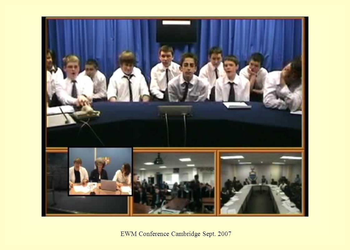 EWM Conference Cambridge Sept. 2007