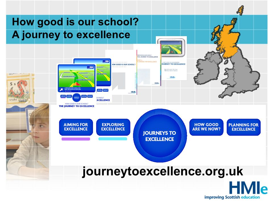 How good is our school? A journey to excellence journeytoexcellence.org.uk