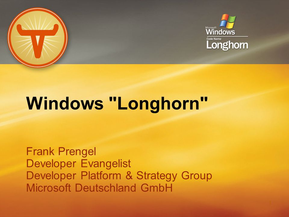 22 Road To Longhorn Richness Win16 Win32 COM MFC Components Services APIs Windows 3.0.NET Framework Whidbey TM