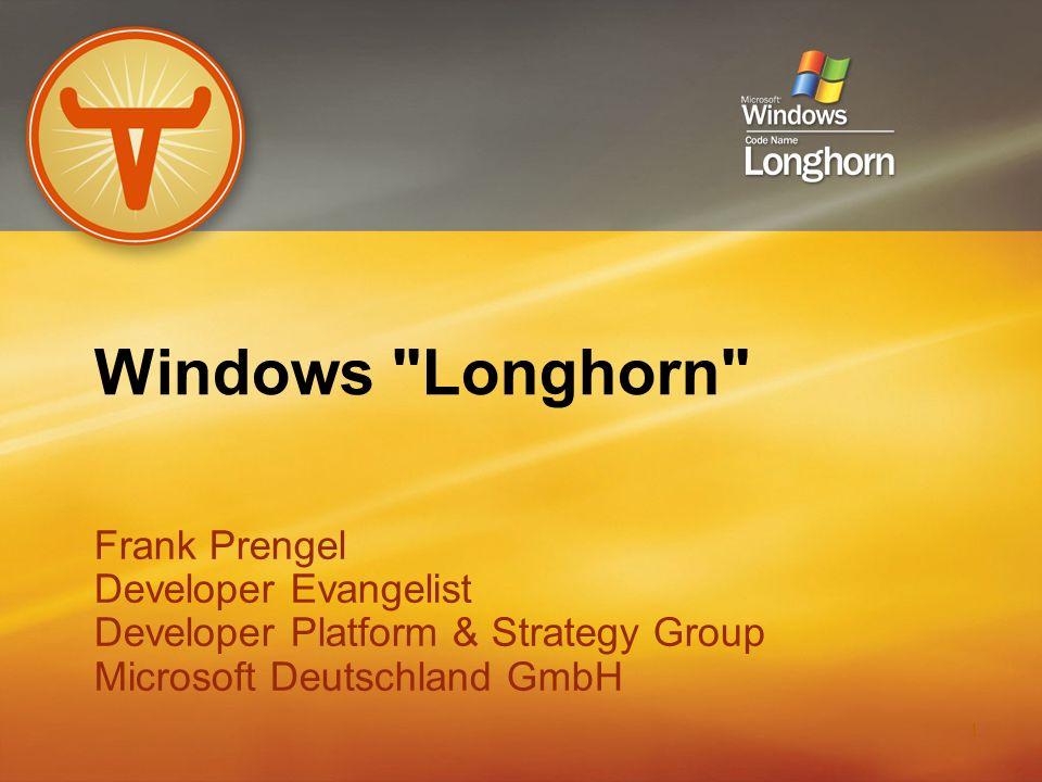 12 Aero Longhorn User Experience (UX) Transparency, 3D,...