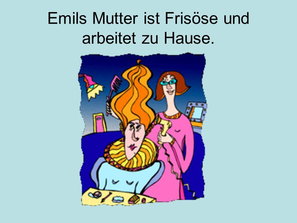 Emil und seine Mutter leben in Neustadt.