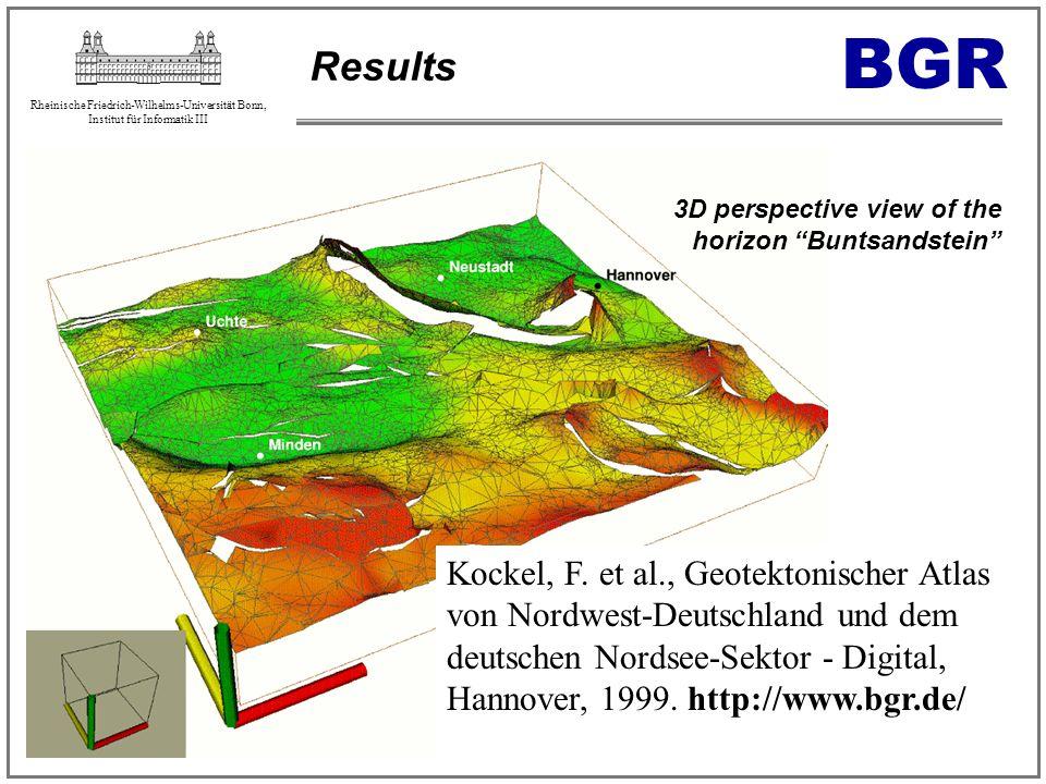 Rheinische Friedrich-Wilhelms-Universität Bonn, Institut für Informatik III Results Kockel, F. et al., Geotektonischer Atlas von Nordwest-Deutschland