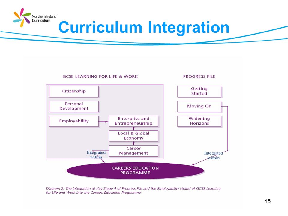 Curriculum Integration 15