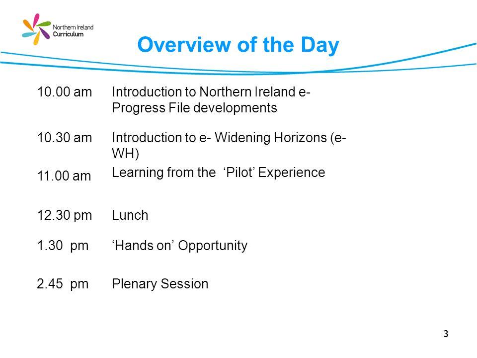 Session 4 e-Widening Horizons : Log on to: https://training.nicurriculum.org.uk 64