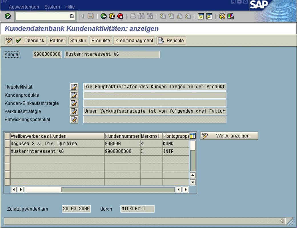Page 14Date 2001/02/15Thomas MickleyCostumer Database System jw Aktivitäten