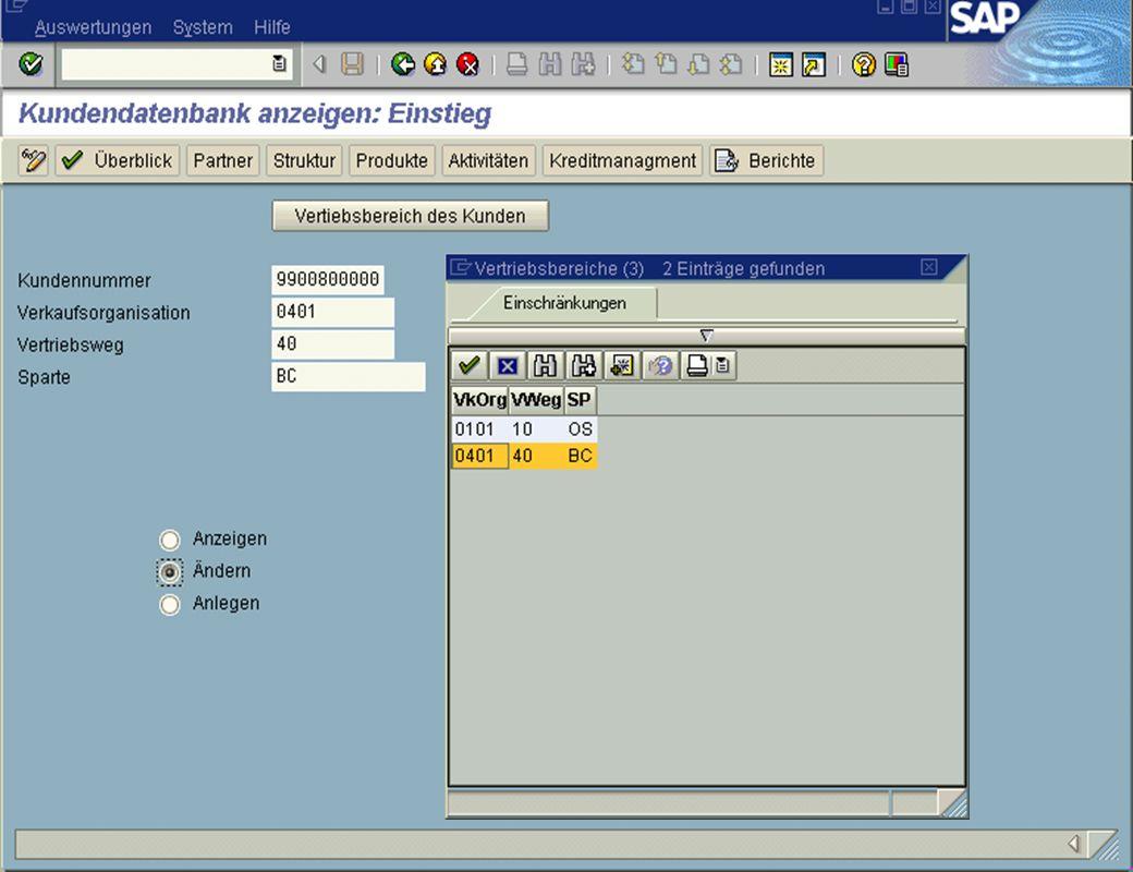 Page 6Date 2001/02/15Thomas MickleyCostumer Database System jw Einstieg in KDB Matchkode