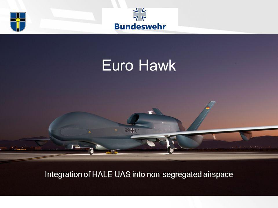 Euro Hawk Integration of HALE UAS into non-segregated airspace