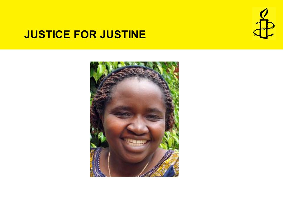 JUSTICE FOR JUSTINE