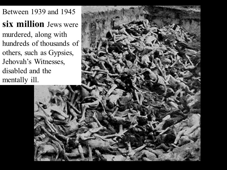 For hundreds of years Christian Europe had regarded the Jews as the Christ -killers. At one time or another Jews had been driven out of almost every E