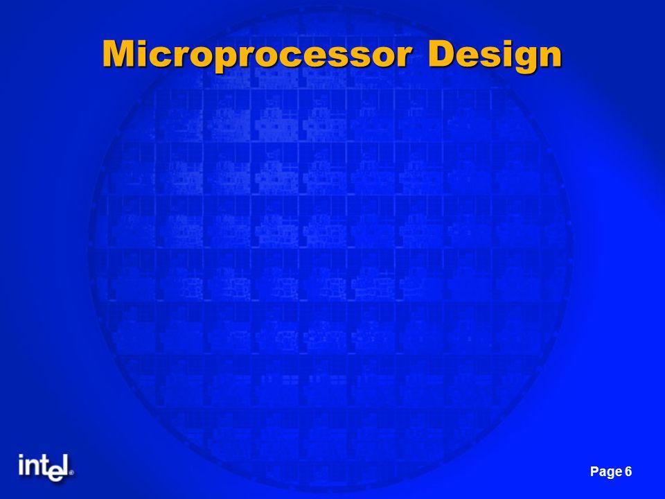 Page 6 Microprocessor Design