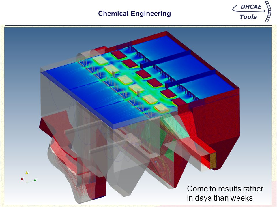 Come to results rather in days than weeks Chemical Engineering