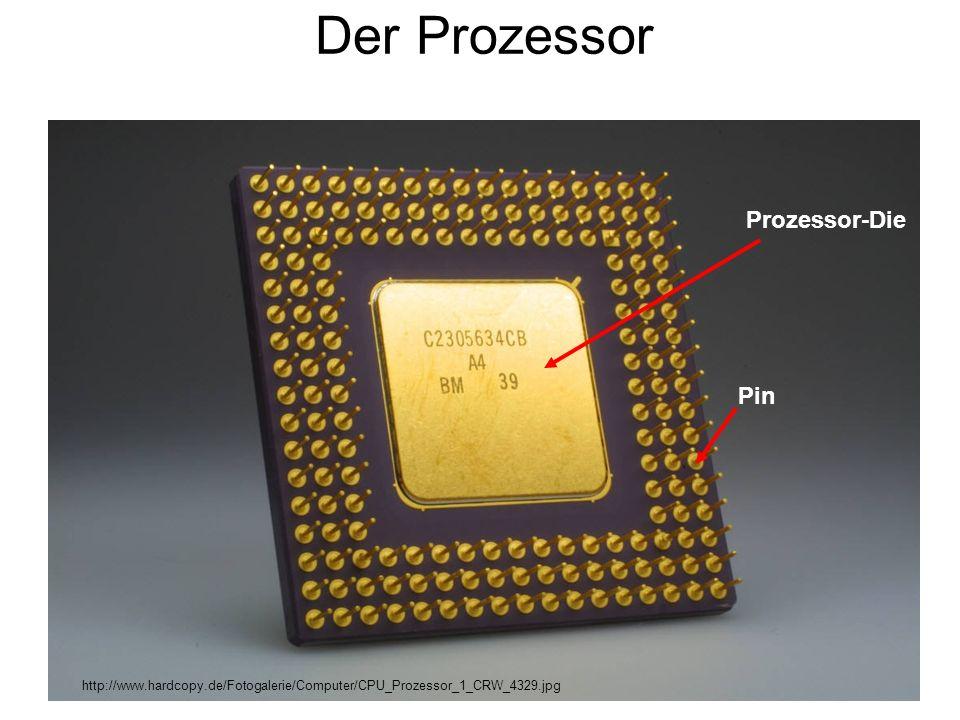 Der Prozessor Prozessor-Die Pin http://www.hardcopy.de/Fotogalerie/Computer/CPU_Prozessor_1_CRW_4329.jpg