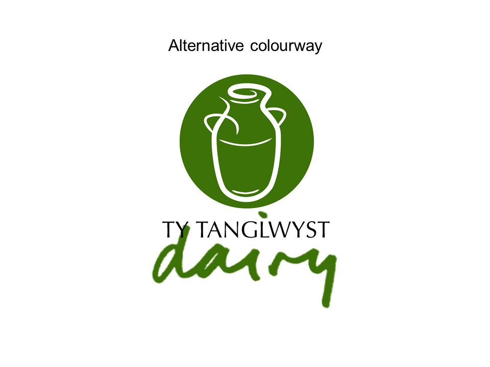 Alternative colourway