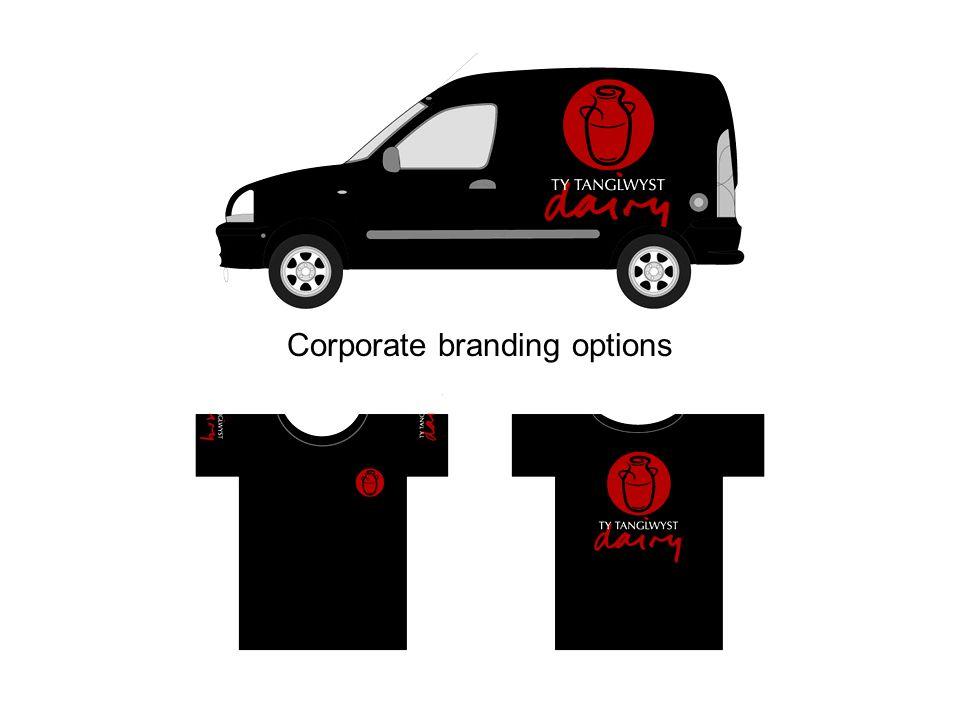 Corporate branding options