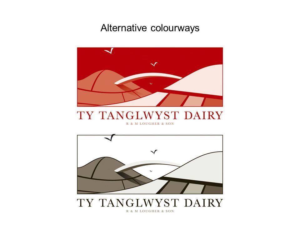 Alternative colourways