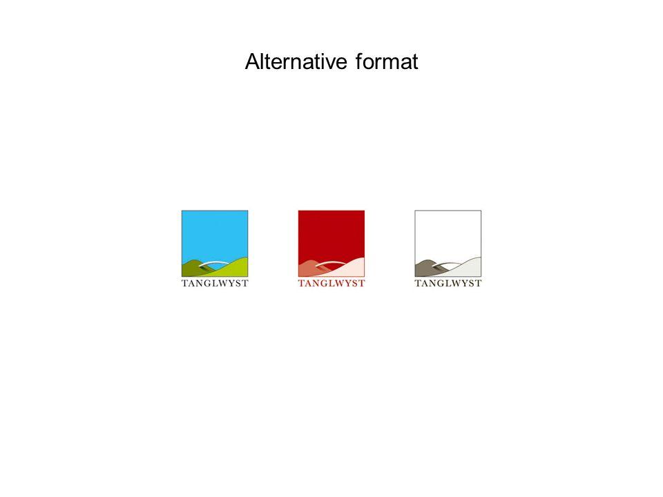 Alternative format