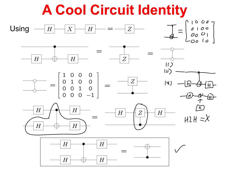 A Cool Circuit Identity Using