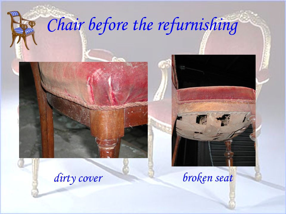 History of the chair - time of transition - appearance of the chair