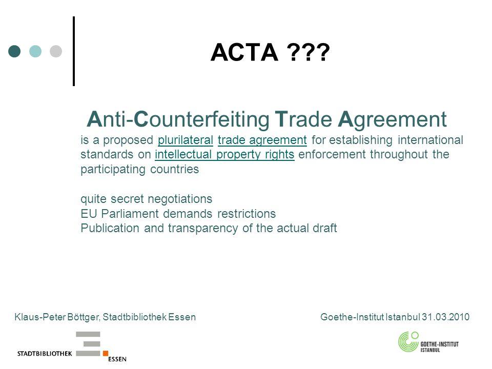 ACTA ??.