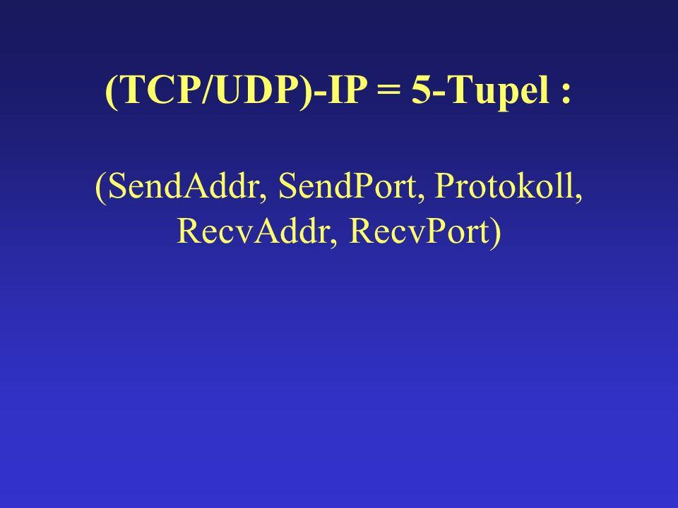 write() socket()bind()listen()accept()read() API-Aufrufe: TCP UDP socket() connect() write() read()