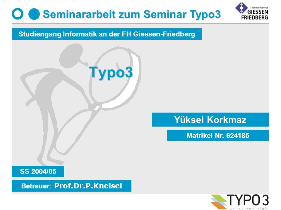 Typo3 Yüksel Korkmaz Matrikel Nr.