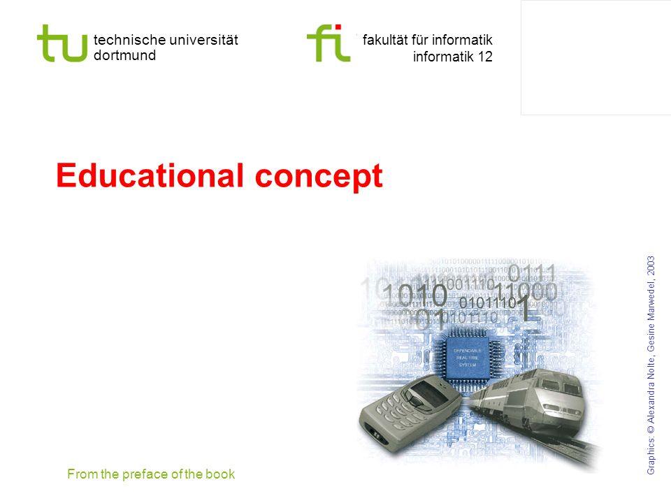 technische universität dortmund fakultät für informatik informatik 12 Educational concept Graphics: © Alexandra Nolte, Gesine Marwedel, 2003 From the