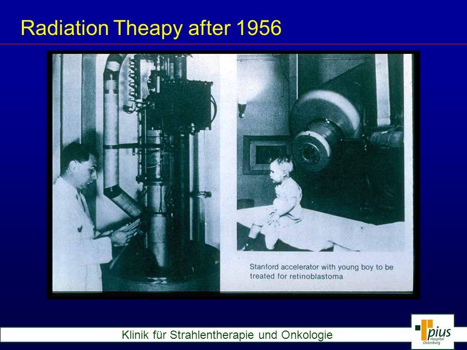 Klinik für Strahlentherapie und Onkologie Modern Linear Accelerators