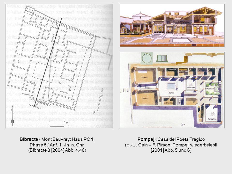 Pompeji: Casa del Poeta Tragico (H.-U. Cain – F. Pirson, Pompeji wiederbelebt! [2001] Abb. 5 und 6)