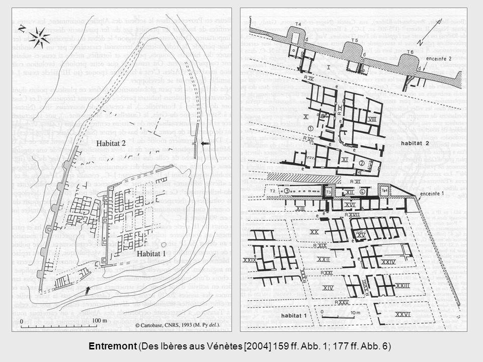 Entremont (Des Ibères aus Vénètes [2004] 159 ff. Abb. 1; 177 ff. Abb. 6)