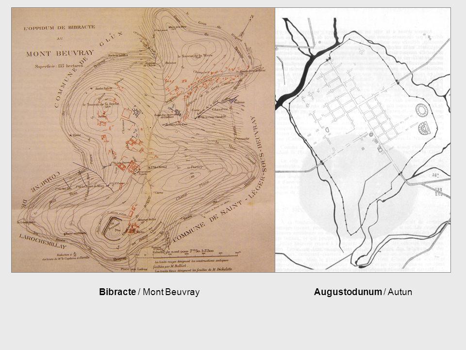 Bibracte / Mont BeuvrayAugustodunum / Autun