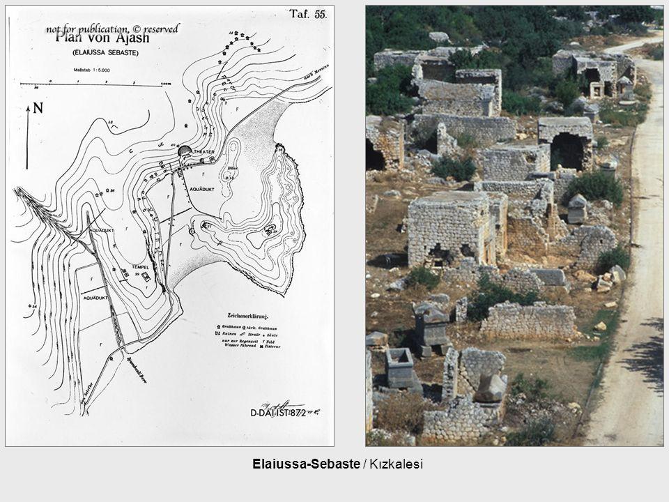 Elaiussa-Sebaste / Kızkalesi