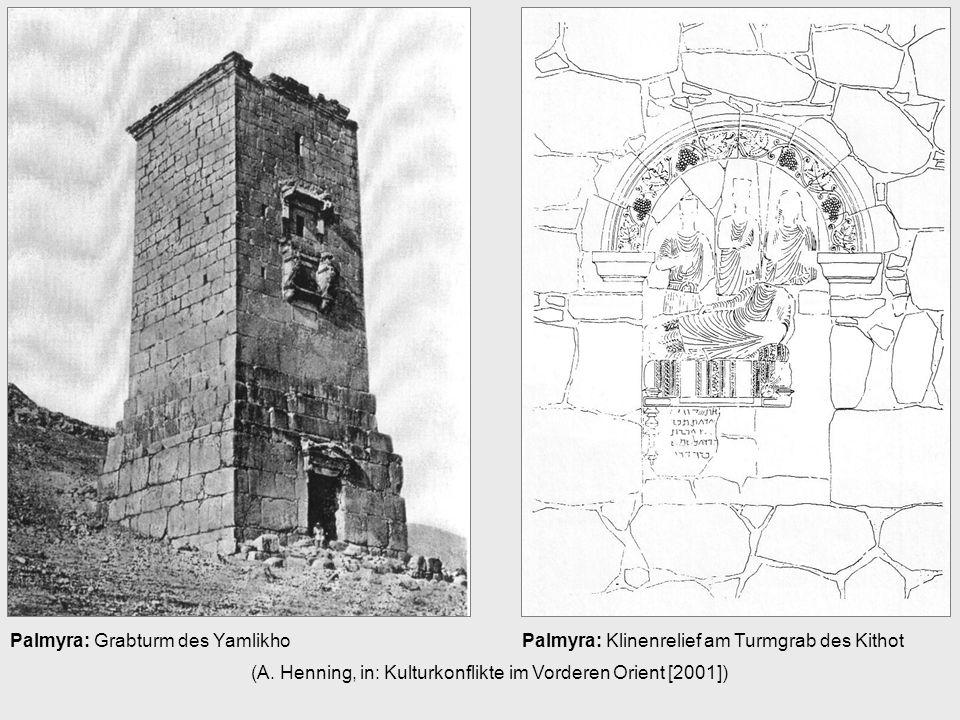 Palmyra: Grabturm des Yamlikho (A.